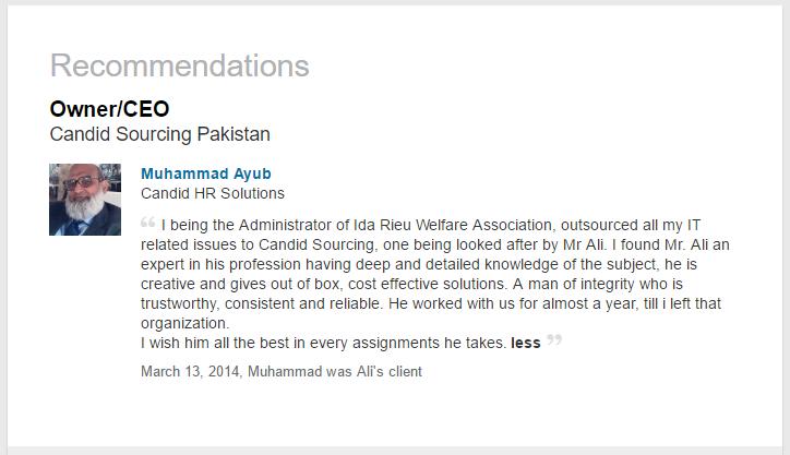 Muhammad Ayub, CEO, Candi HR Solutions